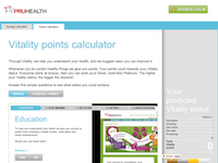 PruHealth Calculator screenshot 1